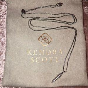 Kendra Scott 'Stormie' long pendant necklace